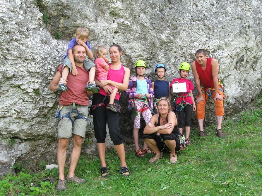 Letní lezení - Jura