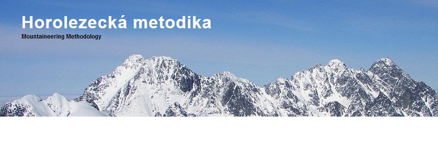 Horolezecká metodika