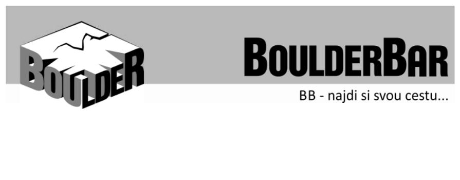 BoulderBar - přelezy týdne